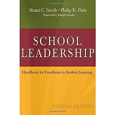 School Leadership: Handbook for Excellence in Student Learning, New Book (9781412936538)