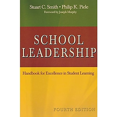 School Leadership: Handbook for Excellence in Student Learning, New Book (9781412936545)