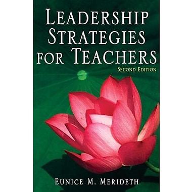 Leadership Strategies for Teachers, Used Book (9781412937092)
