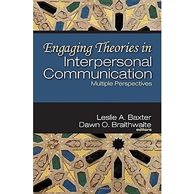 Engaging Theories in Interpersonal Communication: Multiple Perspectives, Used Book (9781412938518)