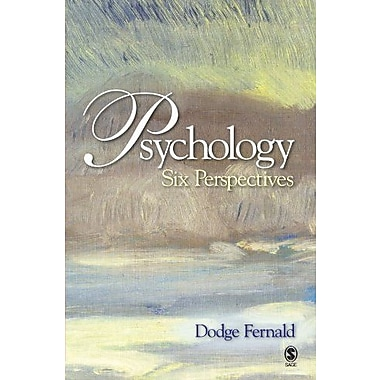 Psychology: Six Perspectives, New Book (9781412938679)