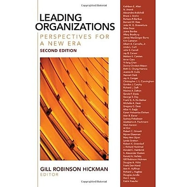 Leading Organizations: Perspectives for a New Era, Used Book (9781412939089)