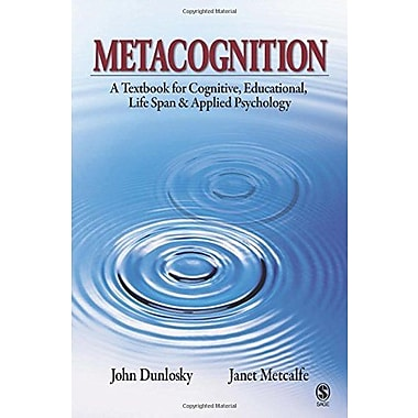 Metacognition, New Book (9781412939720)