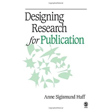 Designing Research for Publication, New Book (9781412940153)