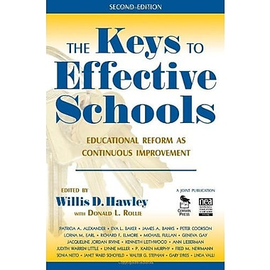 The Keys to Effective Schools: Educational Reform as Continuous Improvement, Used Book (9781412941006)