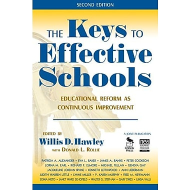 The Keys to Effective Schools: Educational Reform as Continuous Improvement, New Book (9781412941013)