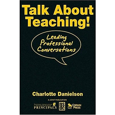 Talk About Teaching!: Leading Professional Conversations, Used Book (9781412941402)