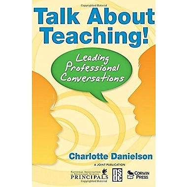 Talk About Teaching!: Leading Professional Conversations, Used Book (9781412941419)