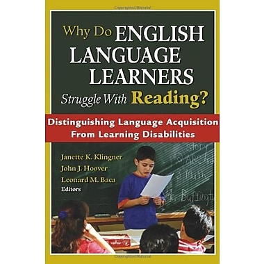 Why Do English Language Learners Struggle With Reading?, Used Book