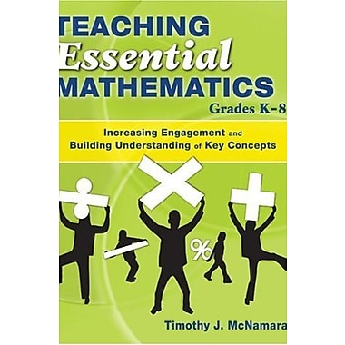 Teaching Essential Mathematics, Grades K-8, New Book (9781412941884)