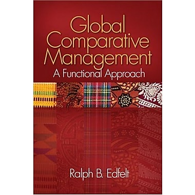 Global Comparative Management: A Functional Approach, Used Book (9781412944694)