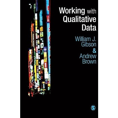 Working with Qualitative Data, New Book (9781412945721)