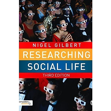 Researching Social Life, New Book (9781412946629)