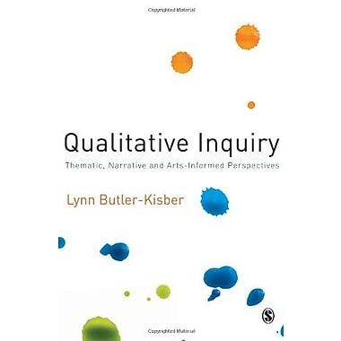 Qualitative Inquiry: Thematic, Narrative and Arts-Informed Perspectives, Used Book (9781412948197)
