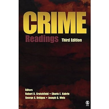 Crime: Readings, Used Book (9781412949675)