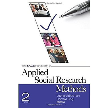 The SAGE Handbook of Applied Social Research Methods, New Book (9781412950312)