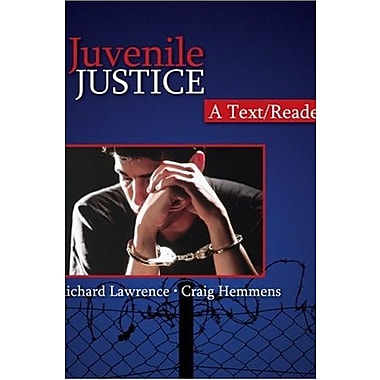 Juvenile Justice: A Text/Reader (SAGE Text/Reader Series in Criminology and Criminal Justice), New Book (9781412950367)