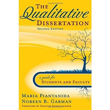 The Qualitative Dissertation: A Guide for Students and Faculty, Used Book (9781412951081)