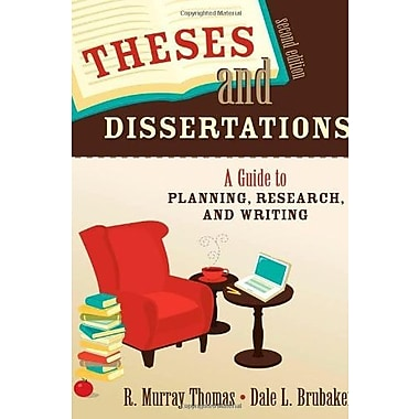 Theses and Dissertations: A Guide to Planning, Research and Writing, Used Book (9781412951166)