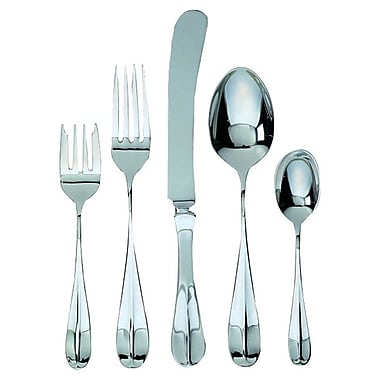 Ginkgo Classic English 5 Piece Flatware Set