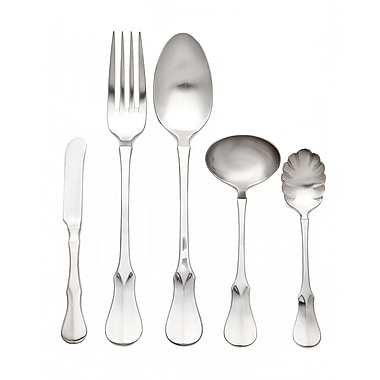 Ricci Argentieri Violino 5 Piece Hostess / Serving Set; Satin