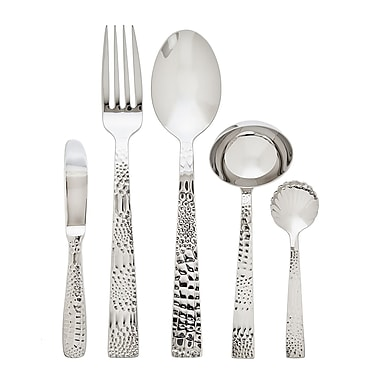 Ricci Argentieri Crocodile 5 Piece Hostess / Serving Set