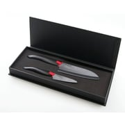 Kyocera Cutlery 2 Piece Knife Gift Set; Black