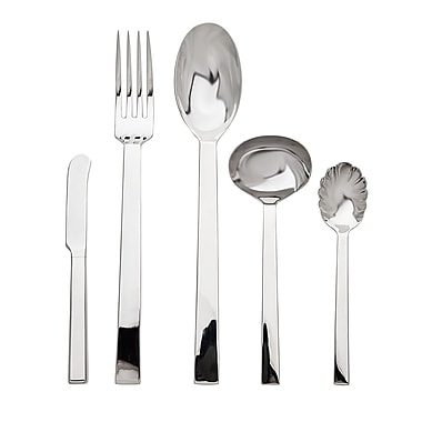 Ricci Argentieri Rapallo Satin 5 Piece Hostess / Serving Set; Shiny