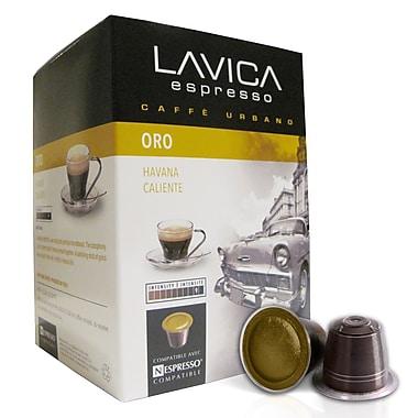 Lavica - Mélange Oro, torréfaction foncée, compatible Nespresso, paq./60 capsules