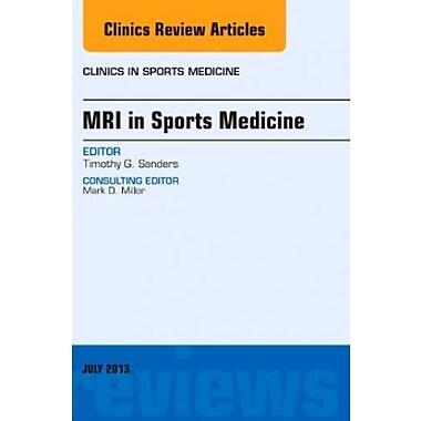 MRI in Sports Medicine, An Issue of Clinics in Sports Medicine 1e, Used Book (9781455776122)
