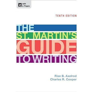 The St. Martin's Guide to Writing, Used Book (9781457604423)