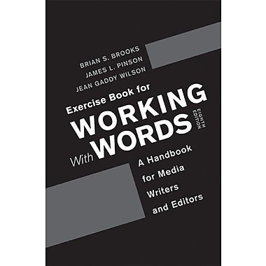 Exercise Book for Working With Words, Used Book (9781457607400)