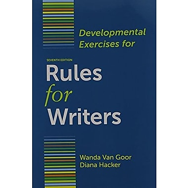 Rules for Writers 7e & Developmental Exercises, Used Book (9781457620621)