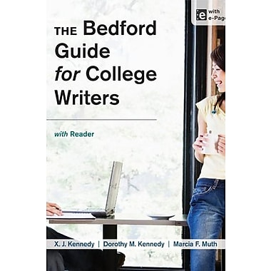 The Bedford Guide for College Writers with Reader, Used Book (9781457631023)