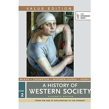 A History of Western Society, Value Edition Volume 2, Used Book (9781457648519)