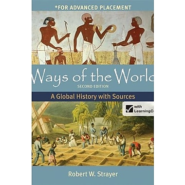 Ways of the World with Sources for AP* with LaunchPad & e-Book 2e Used Book (9781457654046)