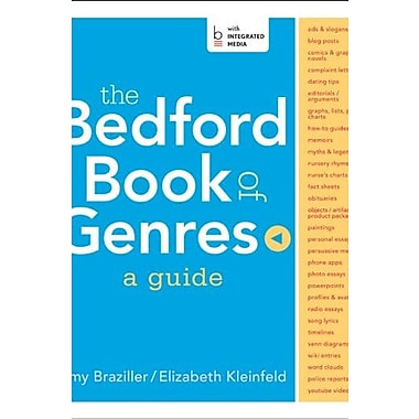 The Bedford Book of Genres: A Guide, Used Book (9781457654138)