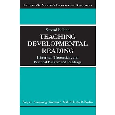 Teaching Developmental Reading: Historical, Theoretical and Practical Background Readings, Used Book (9781457658952)