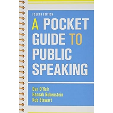 Pocket Guide to Public Speaking 4e & Pocket Style Manual 6e, Used Book (9781457667275)