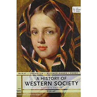 AP History of Western Society Since 1300 with Bedford Integrated Media, Used Book (9781457677106)
