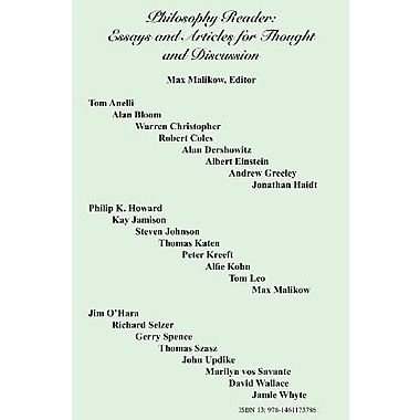 Philosophy Reader: Essays and Articles for Thought and Discussion, Used Book (9781461173786)