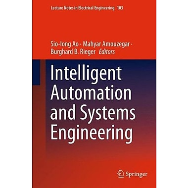 Intelligent Automation and Systems Engineering, Used Book (9781461403722)