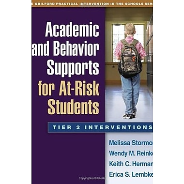 Academic and Behavior Supports for At-Risk Students: Tier 2 Interventions Used Book (9781462503049)