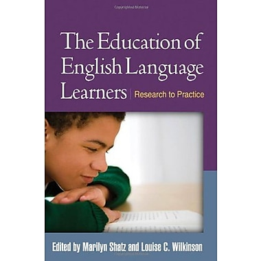 The Education of English Language Learners: Research to Practice, Used Book (9781462503308)
