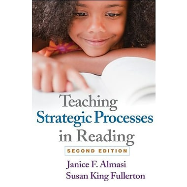 Teaching Strategic Processes in Reading, Second Edition Used Book (9781462506293)