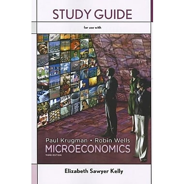Study Guide for Microeconomics, Used Book (9781464104237)