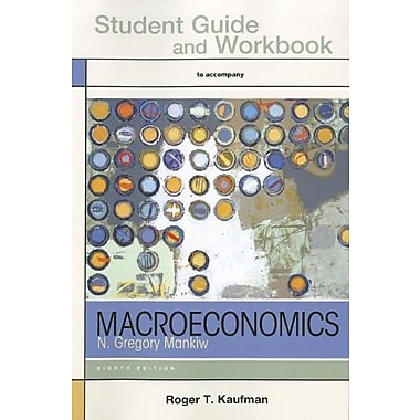 Study Guide for Macroeconomics, Used Book (9781464104930)