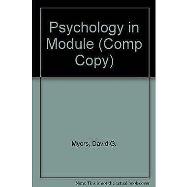Psychology in Module, Used Book (9781464108457)