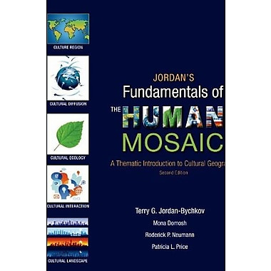 Jordan's Fundamentals of the Human Mosaic: A Thematic Introduction to Cultural Geography, Used Book (9781464110689)