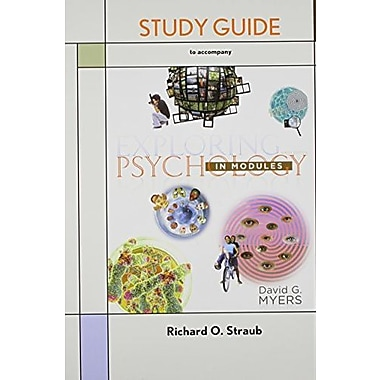 Study Guide for Exploring Psychology in Modules, Used Book (9781464118906)